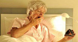 alzheimer hastalarında uyku hali